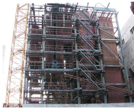 齊魯制藥廠35噸鍋爐安裝